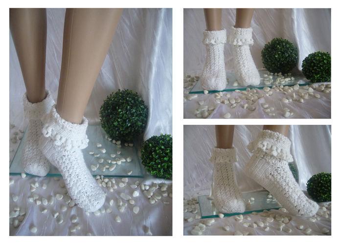 Makerist - Damen Wohlfühl Socken - Häkelprojekte - 1