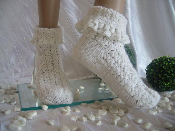 Makerist - Damen Wohlfühl Socken - Häkelprojekte - 2