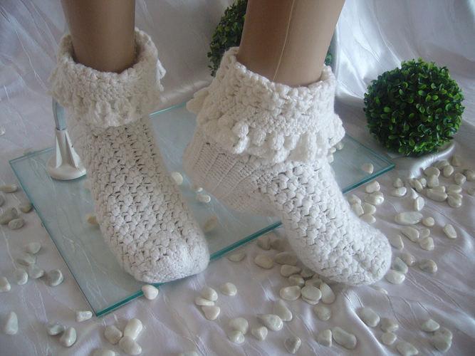 Makerist - Damen Wohlfühl Socken - Häkelprojekte - 3