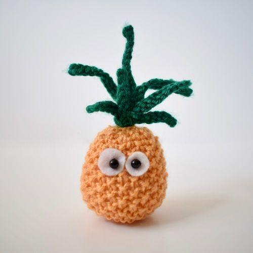 Makerist - Little Pineapple - Knitting Showcase - 1