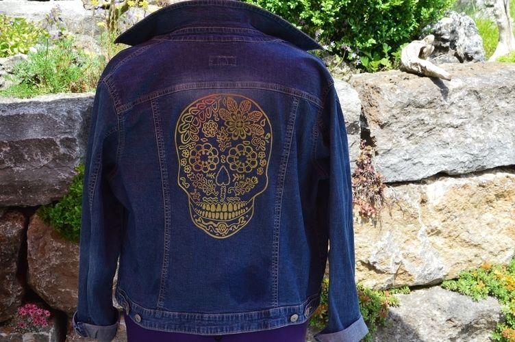 Makerist - Potterdatei Skully von PELLOTTA - Textilgestaltung - 1