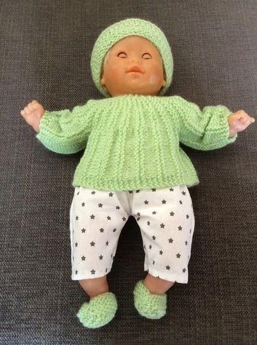 Makerist - Vêtement pour bébé 30 cm - Créations de tricot - 1