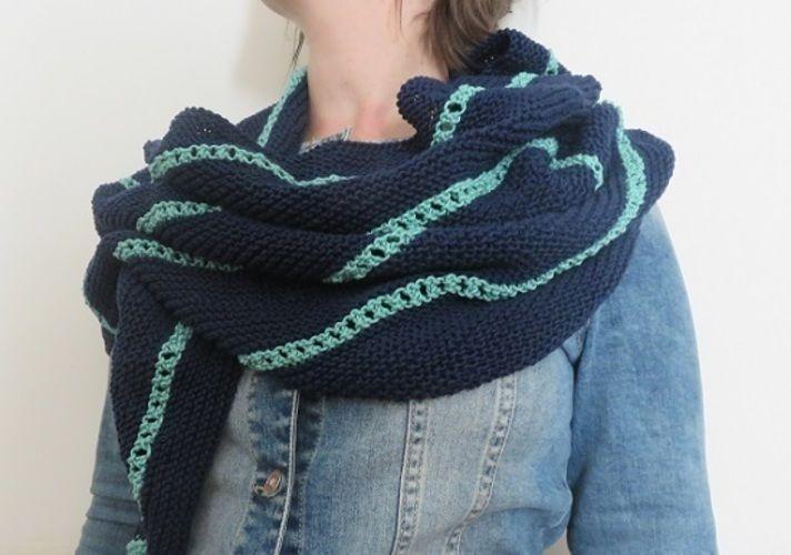 Makerist - Châle Nangou - Créations de tricot - 2