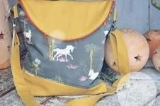Makerist - Schicki Micki Flapbag von UniKati - 1