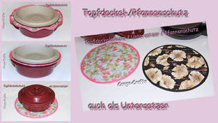 Makerist - Topfdeckel- / Pfannenschutz u. Untersetzer - 1