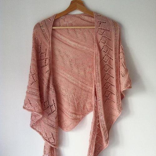 Makerist - Châle Priscille. - Créations de tricot - 1