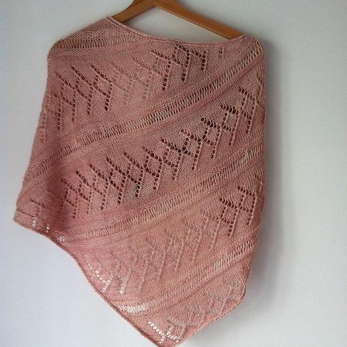 Makerist - Châle Priscille. - Créations de tricot - 2