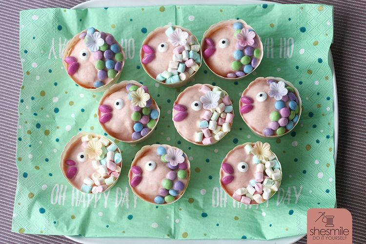 Makerist - Fisch-Muffins zur Taufe - Torten, Cake Pops und Cupcakes - 2