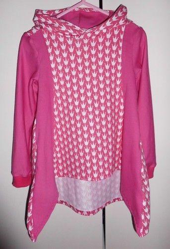 Makerist - Zipfelshirt für kleine Prinzessinnen - Nähprojekte - 1
