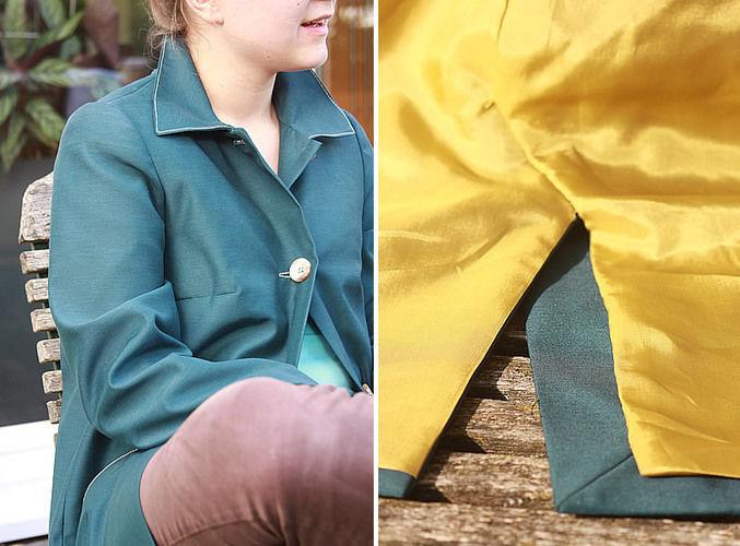 Makerist - Wetterfester Mantel aus imprägniertem Stoff - Nähprojekte - 2