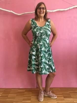Makerist - Sommerliches Jersey-Kleid - 1