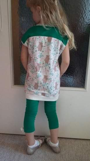 Easy peasy Longshirt+Leggings...es muss nicht immer pink sein