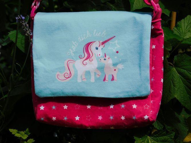Makerist - Eine Einhorntasche für den Einhornfan - Nähprojekte - 2