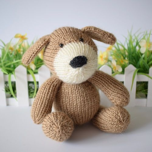 Makerist - Mortimer Puppy - Knitting Showcase - 1