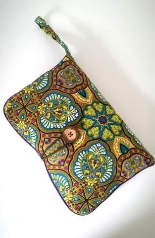 Wickelhandtasche ;-) Super zum Verschenken für werdende Mamas.