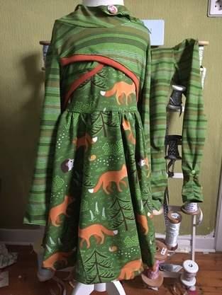 Kombi aus Issy und Ballerina Kleid