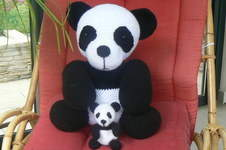 Makerist - Maman Panda et son bébé - 1