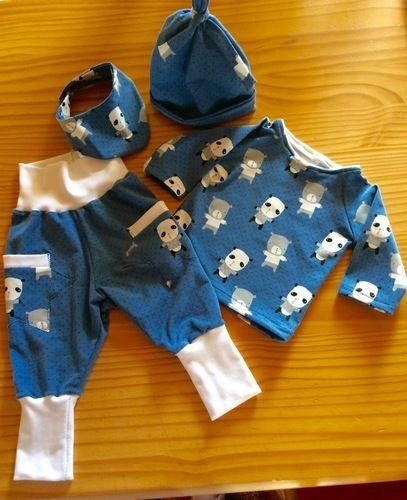 Makerist - Babyset aus Baumwolljersey - Nähprojekte - 1