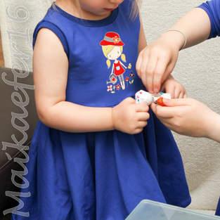 kleine Ballerina für eine süße kleine Maus