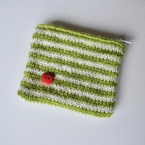 Makerist - Stripy Purse - Knitting Showcase - 1