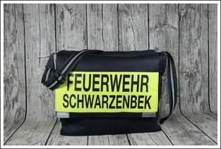 Massenger Bag aus alter Feuerwehrjacke