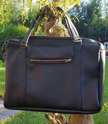 Makerist - Notebooktasche als Handtasche genäht  - Nähprojekte - 1
