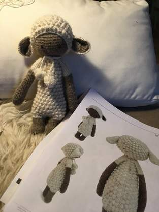 Makerist - Lupo Lämmchen - Alpaca Wolle - 1