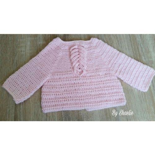 Makerist - Brassière courte naissance  - Créations de crochet - 1