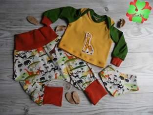 Shirt aus dem Babyset von Fadenkäfer