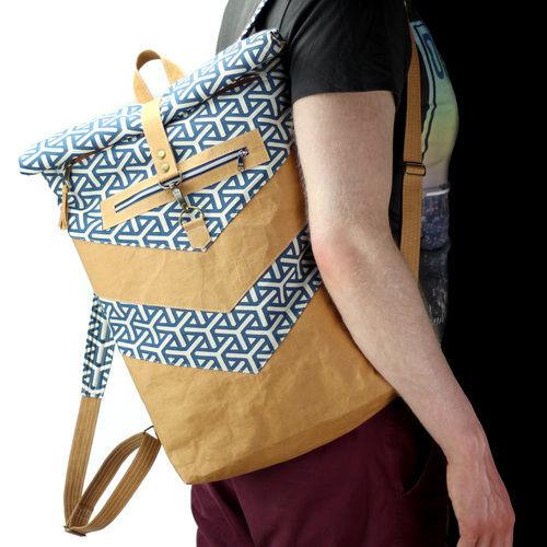 Makerist - VARO Rolltop-Rucksack aus Snappap Plus und Canvas - Nähprojekte - 1