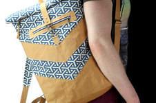 Makerist - VARO Rolltop-Rucksack aus Snappap Plus und Canvas - 1
