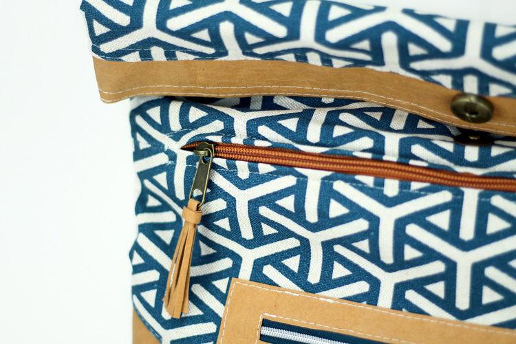 Makerist - VARO Rolltop-Rucksack aus Snappap Plus und Canvas - Nähprojekte - 3