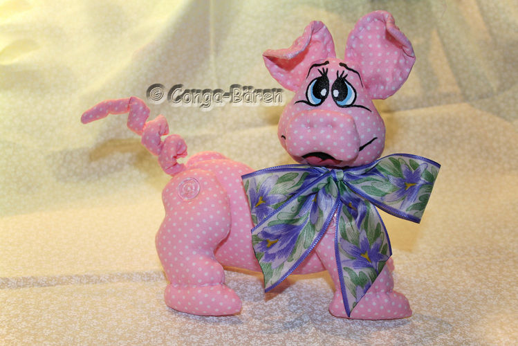 Makerist - Schweinchen Luci - Nähprojekte - 1