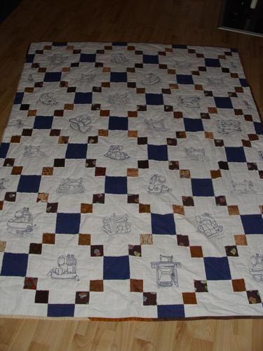 Makerist - Dieser Quilt wird mich nie verlassen - Patchwork-Projekte - 1