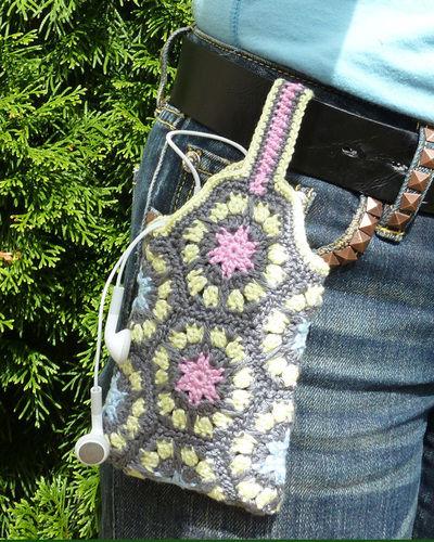 Makerist - Gürtel Tasche aus Granny Square - Häkelprojekte - 1