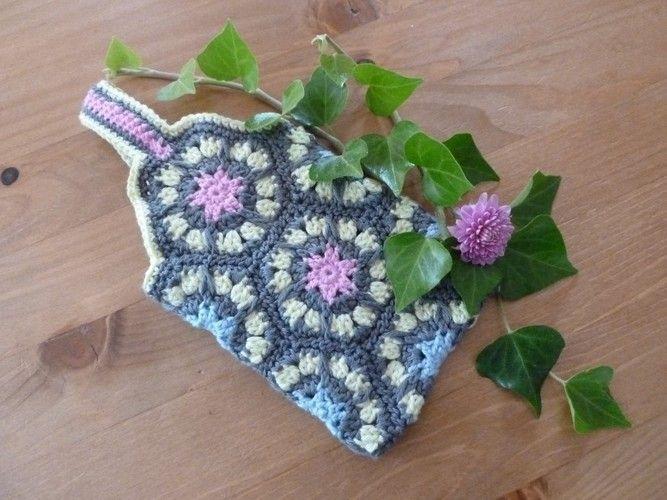 Makerist - Gürtel Tasche aus Granny Square - Häkelprojekte - 3