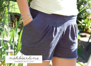 Makerist - julika Shorts genäht von nähbäerlina - 1