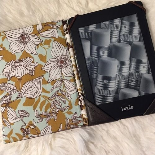 Makerist - Hülle für meinen eBook - Reader  - Nähprojekte - 3