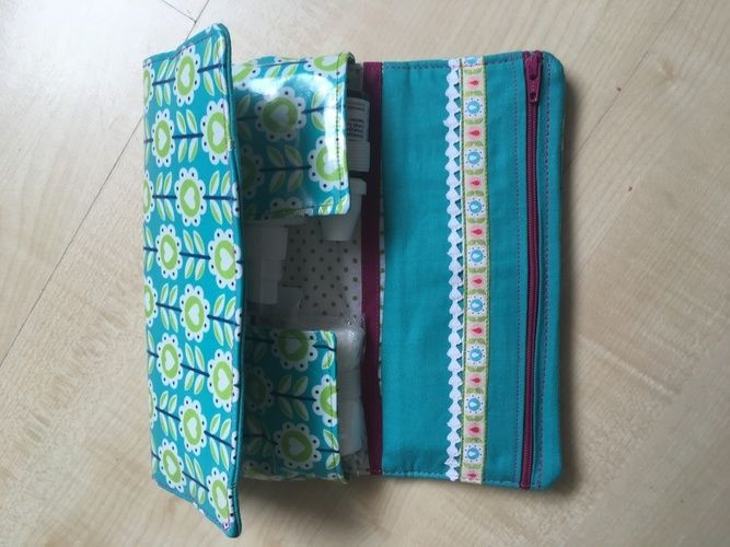 Makerist - Globulita Notfalltasche aus beschichteter Baumwolle - Nähprojekte - 3