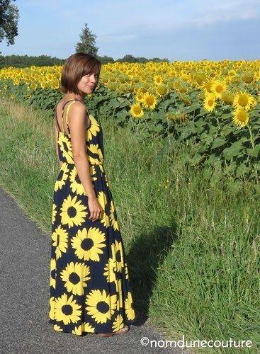 Makerist - Ma robe longue pour l'été ! - Créations de couture - 1