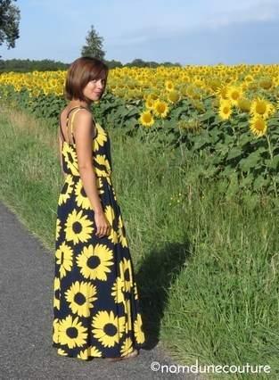 Ma robe longue pour l'été !