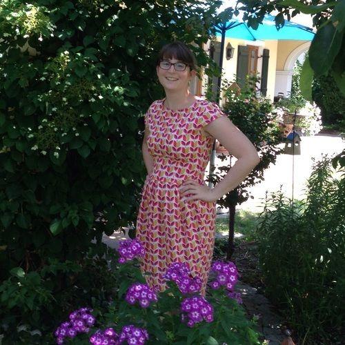 Makerist - Kleid Tanja mit Tulpen - Nähprojekte - 1