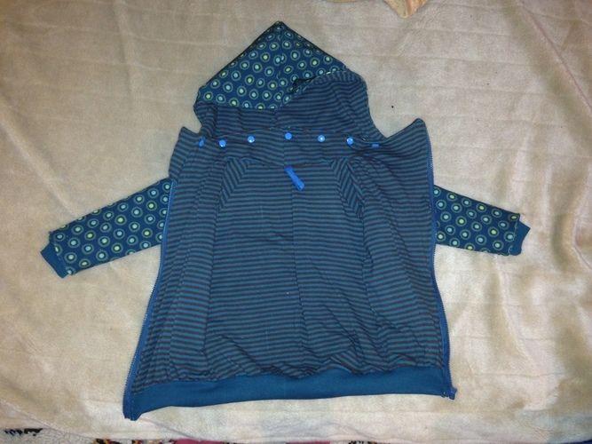 Makerist - Softshell Parka in 92/98 für meinen Sohn - Nähprojekte - 2