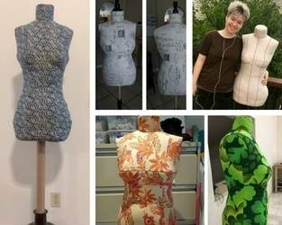 DIY Dress Form Finished Gallery