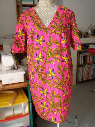 Makerist - Robe en tissu wax - 1