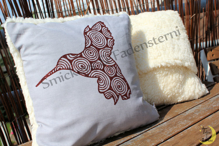 Makerist - Glitzer-Kolibri - Textilgestaltung - 3