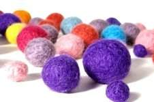 Makerist - Knitted Felt Beads - 1