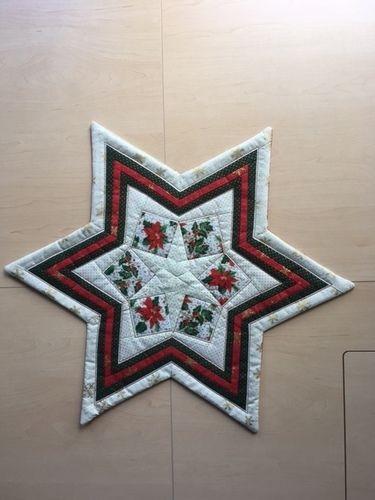 Makerist - Weihnachtsstern - Patchwork-Projekte - 1