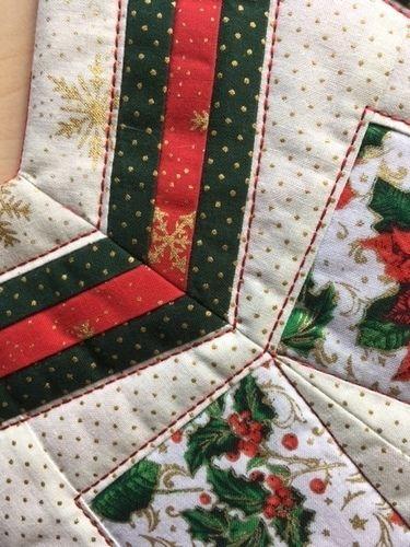 Makerist - Weihnachtsstern - Patchwork-Projekte - 3