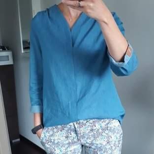 Makerist - Bluse Bellah aus Jeans  - 1